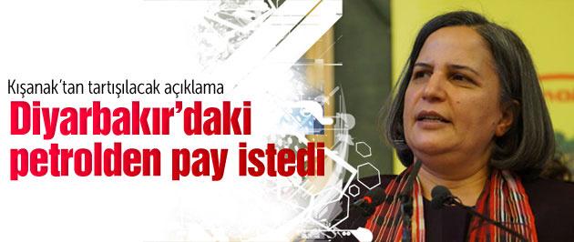 Kışanak Diyarbakır'daki petrolden pay istedi