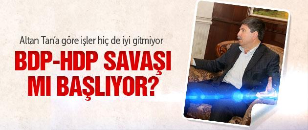 BDP-HDP savaşı başladı! Fena bocalıyoruz!