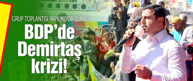 BDP'de Selahattin Demirtaş krizi