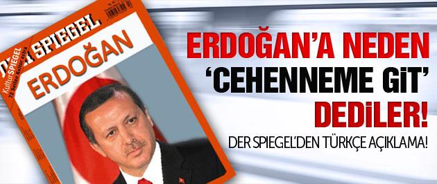 Der Spiegel Erdoğan bedduasını Türkçeye çevirdi!