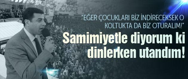 Demirtaş'tan Erdoğan'a: Çocukları biz indireceksek...