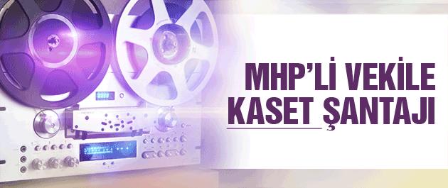 MHP'li Özcan Yeniçeri'ye ses kasedi şantajı