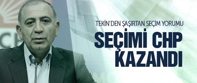 G�rsel Tekin: Se�imi CHP kazand�