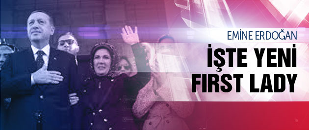 ��te yeni 'first lady' Emine Erdo�an