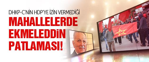 DHKP-C'nin HDP ile �at��t��� mahallede Ekmeleddin patlamas�!