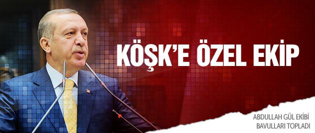 Erdo�an Kö�k'e 'özel ekip' kuracak