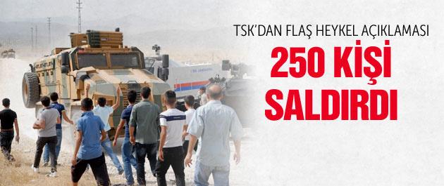 TSK'dan flaş PKK heykeli açıklaması