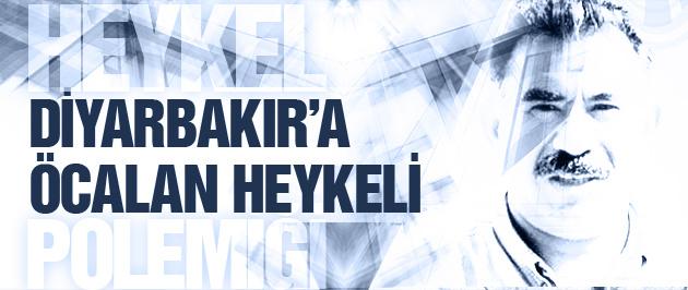 Diyarbakır'a Öcalan heykeli!