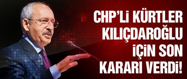 Kılıçdaroğlu için CHP'li Kürtler de kararını verdi!