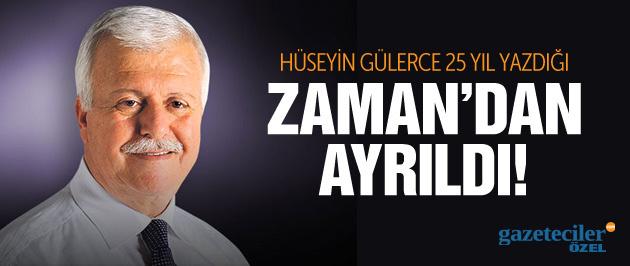 Hüseyin Gülerce Zaman Gazetesi'nden istifa etti