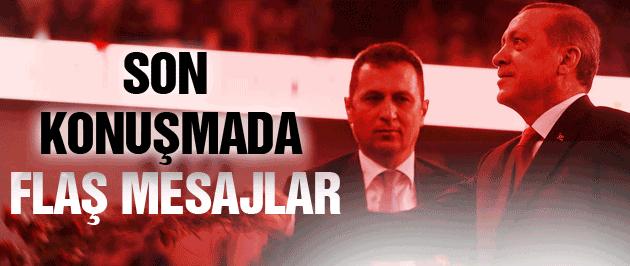 Başbakan Tayyip Erdoğan AK Parti'ye böyle veda etti