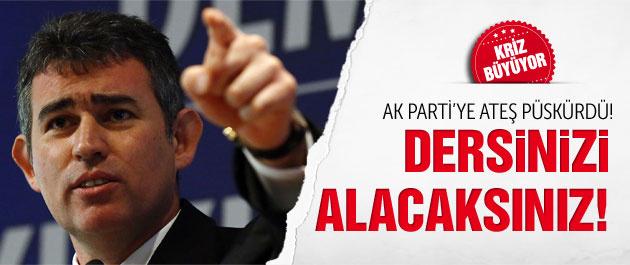 Metin Feyzioğlu, AK Parti'ye ateş püskürdü