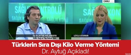Türklerin sıradışı kilo verme yöntemi
