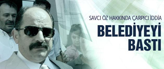 Savcı Öz belediyeyi bastı Başkan Demir anlattı