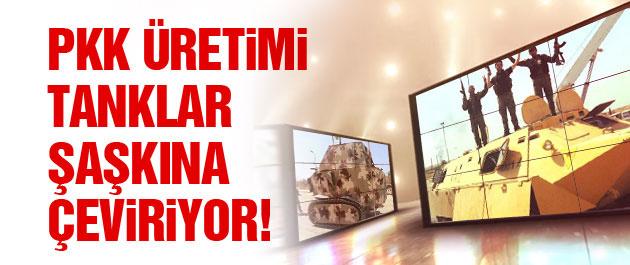 PKK'nın modifiye zırhlı araçları şaşkına çeviriyor!