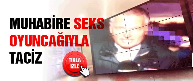 Canlı yayında seks oyuncağıyla taciz