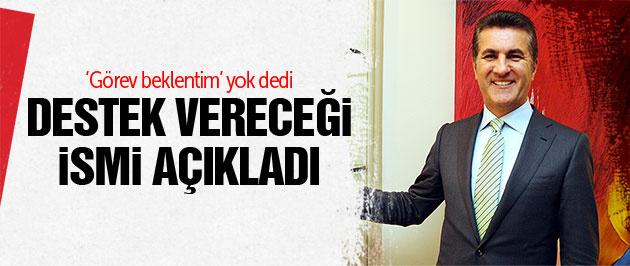 Mustafa Sarıgül kime destek vereceğini açıkladı