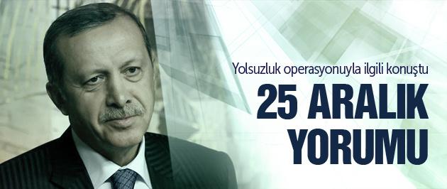 Erdoğan'dan 25 Aralık yorumu! FLAŞ
