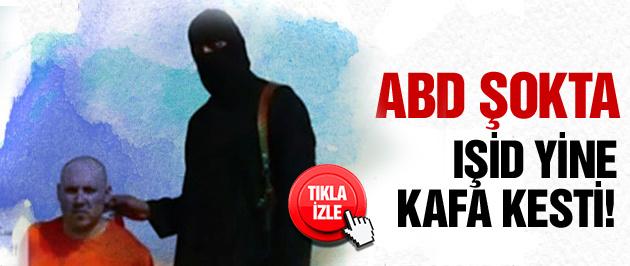 IŞİD yine ABD'li gazeteci kesti!