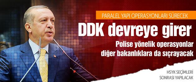 Erdoğan: Diğer bakanlıklara da sıçrayacak