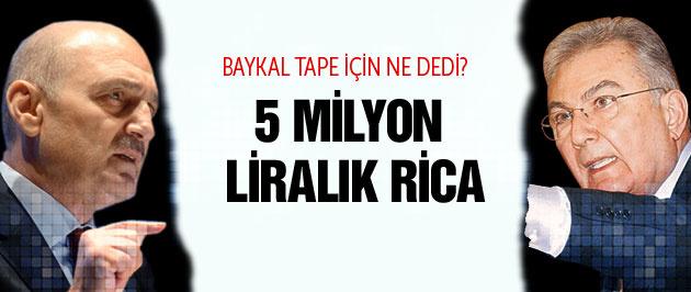 17 Aralık'tan Baykal'la ilgili tape çıktı