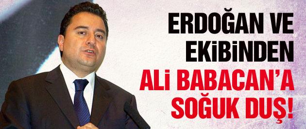 Erdoğan ve ekibinden Ali Babacan'a soğuk duş!