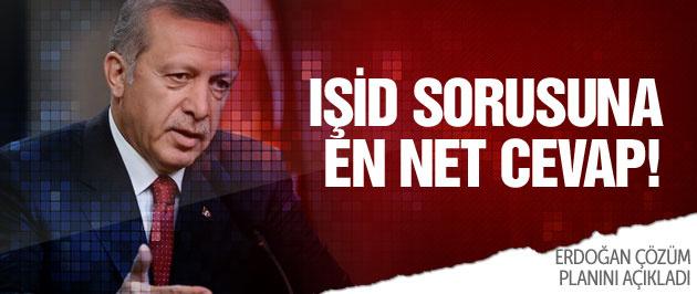 Cumhurbaşkanı Erdoğan'dan IŞİD sorusuna en net cevap!