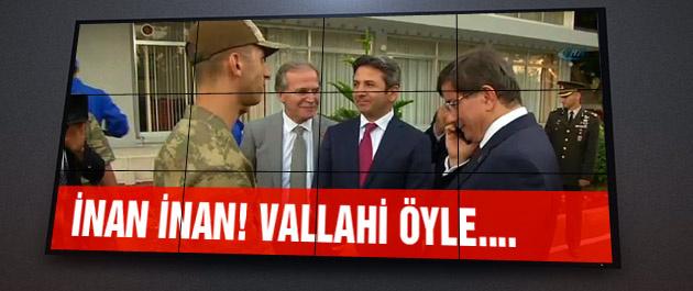 Davutoğlu'ndan asker ailesine sürpriz telefon