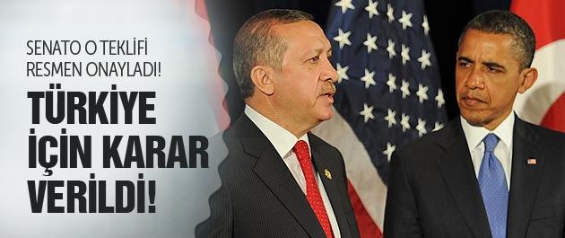 ABD Türkiye için kararını verdi! haberi