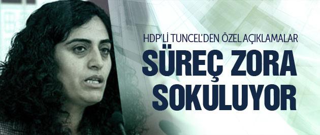 HDP'li Tuncel: Süreci zora sokacak adımlar atılıyor!