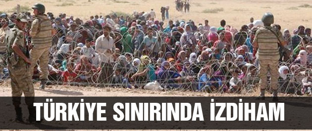 IŞİD'ten kaçanlar Türkiye sınırına dayandı
