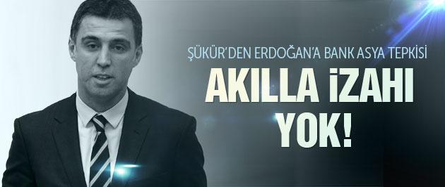 Hakan Şükür'den Erdoğan'a Bank Asya tepkisi
