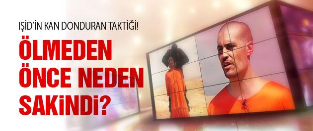 IŞİD'in ABD'li gazeteciyi infaz taktiği kan dondurdu!
