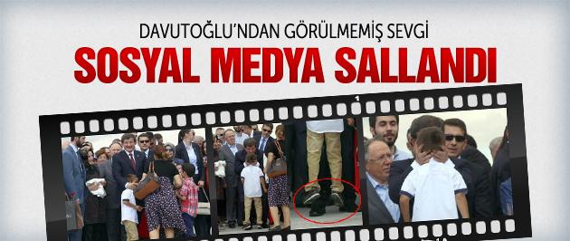 Başbakan Davutoğlu öyle sevindi ki...