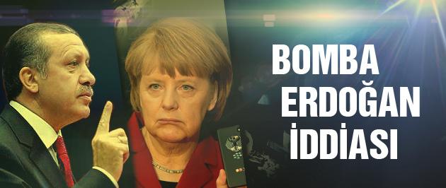 Alman istihbaratından bomba Erdoğan iddiası!
