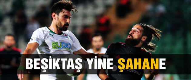 Beşiktaş Bursaspor'u devirdi