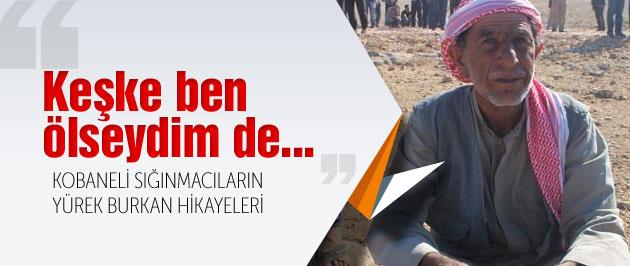 Kobane'den Suruç'a kaçan sığınmacılar yaşadıklarını anlattı