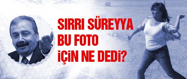 Sırrı Süreyyya bu foto için ne dedi?