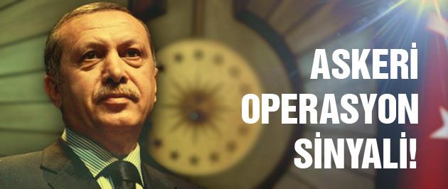 Erdoğan'dan askeri destek sinyali!
