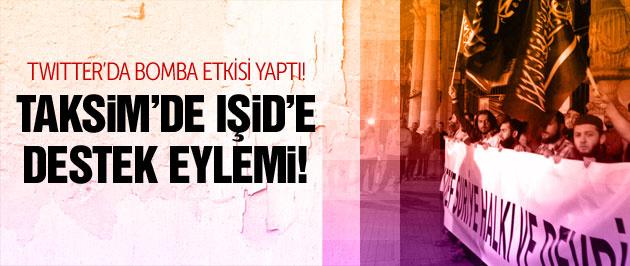 İstanbul'da IŞİD'e operasyonu protesto ettiler!