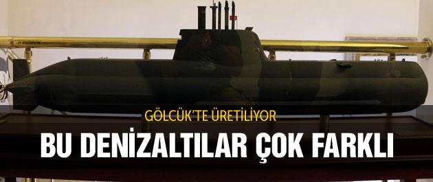 Türk donanmasına 6 yeni tip denizaltı