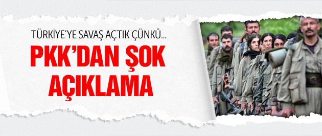 PKK Türkiye'ye neden savaş açtığını açıkladı