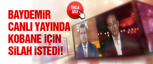 Osman Baydemir Kobani için silah istedi!
