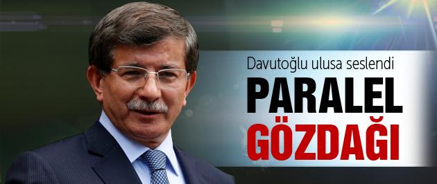 Başbakan Davutoğlu ulusa seslendi!