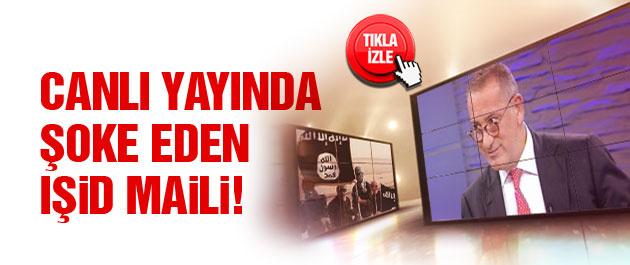 Canlı yayında Altaylı'yı çıldırtan IŞİD maili!