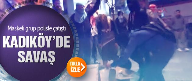 IŞİD protestosu Kadıköy'i karıştırdı!