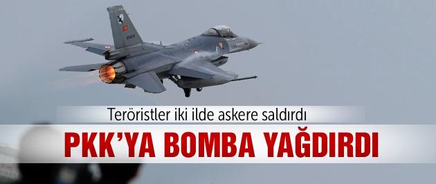 PKK ateş açtı F-16'lar havalandı!