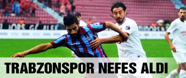 Trabzonspor Mersin İdmanyurdu'nu devirdi