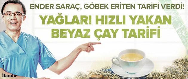 Göbek eriten çay tarifi!