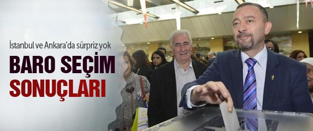 İstanbul ve Ankara Baro seçim sonuçları!